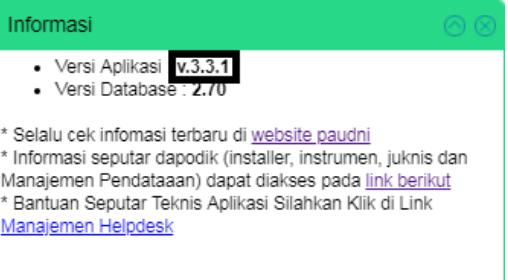 Geveducation:  Update Dapodik PAUD Terbaru ke v.3.3.1 Semester Genap 2018/2019