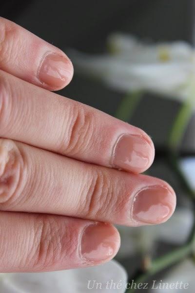blog beaute un the chez linette sur ongles courts