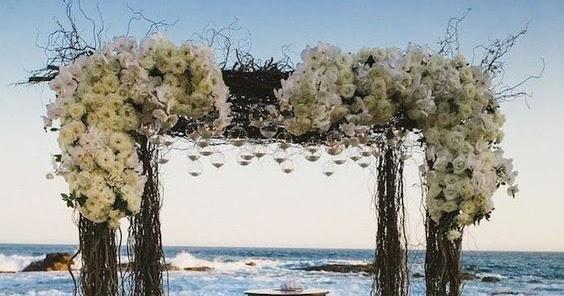 Stunning Beach Wedding Ceremony Ideas: Pinterest Is Cool: Stunning Beach