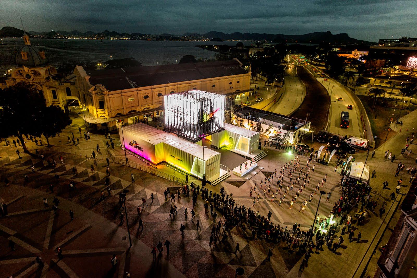 8f1a72507 RIO SEM LIMITES Quem visitar o local poderá conhecer de perto as maiores  inovações de tecnologia e design dos calçados usados pelos melhores atletas  do ...