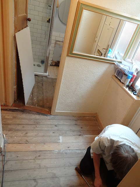 Tiling Over Floorboards