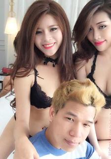 Pinky bảo trân mì gõ bikini lộ núm - Pinky bảo trân và bạn trai xinhgai.biz