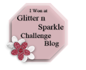 Glitter & Sparkle Challenge Blog Winner