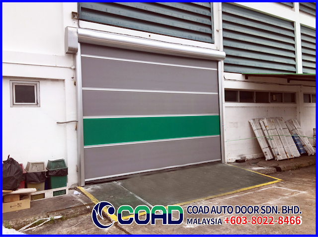 Automatic Door Malaysia, COAD Auto Door Malaysia, COAD Malaysia, High Speed Door, High Speed Door Malaysia, Industry Automatic Door Malaysia, Rapid Door Malaysia,