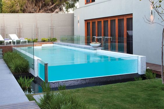 Glass fences for residential pools