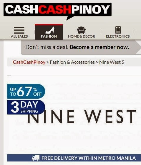 119cabad4d6b Nine West Bags   Tory Burch Sandals SALE at CashCashPinoy.com  Sept 2013