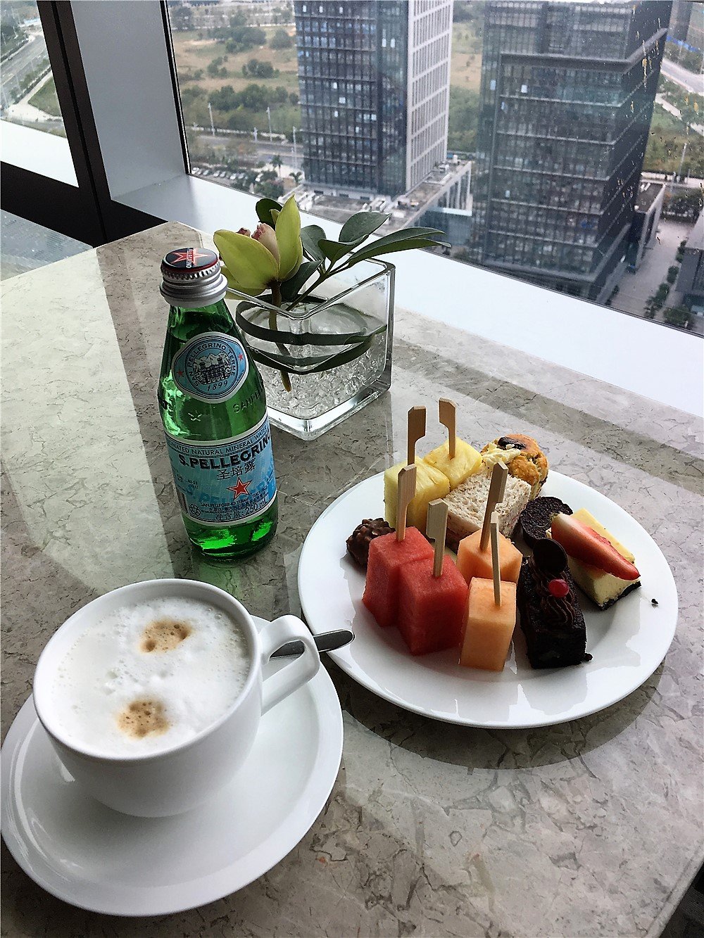 深圳前海華僑城JW萬豪酒店(JW Marriott Hotel Shenzhen Bao'an)-行政酒廊