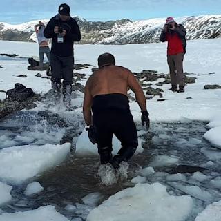 Breaking the ice at Turkey's Kaçkar Swimming Festival