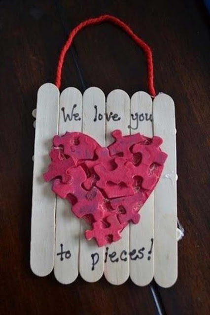 Cute Homemade Valentines Day Crafts