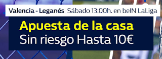 William Hill promocion Valencia vs Leganes 4 noviembre