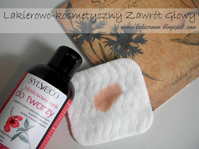 Naturalny tonik hibiskusowy Sylveco