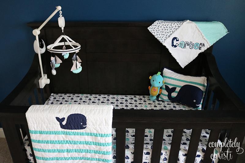 Nautical Baby Boy Nursery Crib