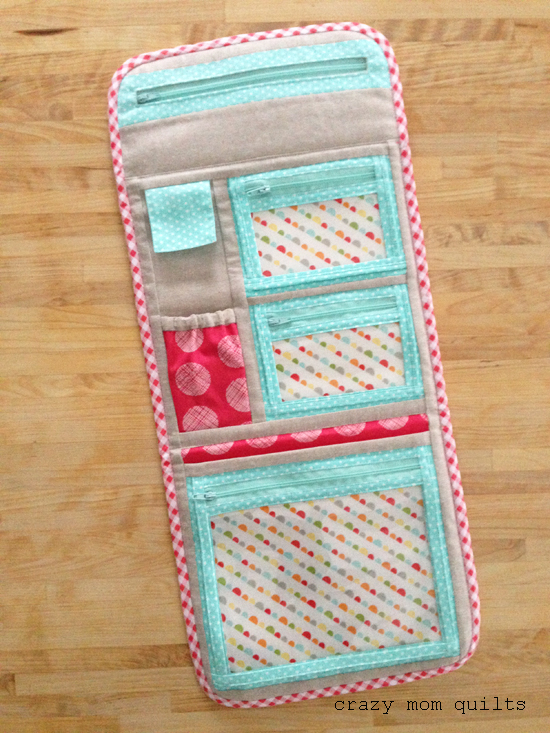 Crazy Mom Quilts Sew It Goes Tote