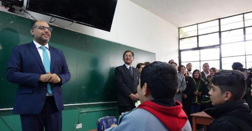 MINEDU insta a maestros volver a clases para no perjudicar servicio educativo - www.minedu.gob.pe