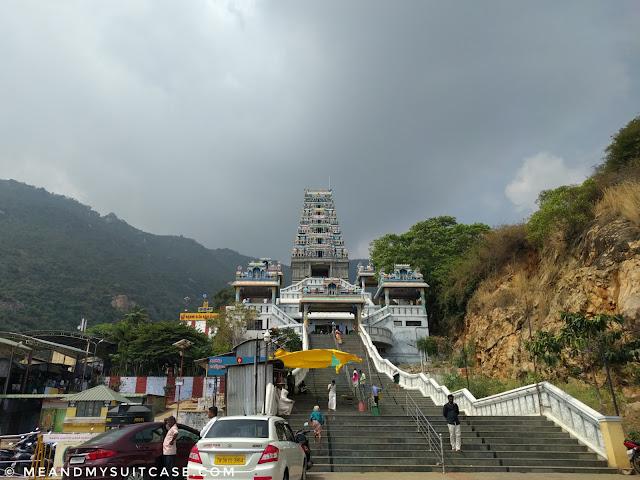 12th century hill temple dedicated to Lord Murugan