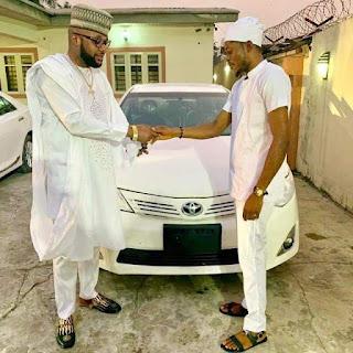 E-money gifting his staffs toyota cars