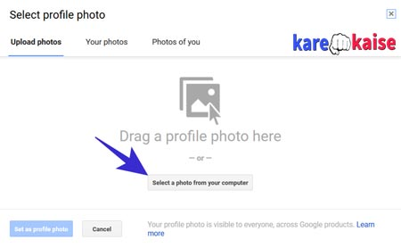 gmail-par-new-profile-upload-kare
