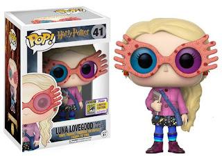 Pop Harry Potter: Luna Lovegood with Glasses.