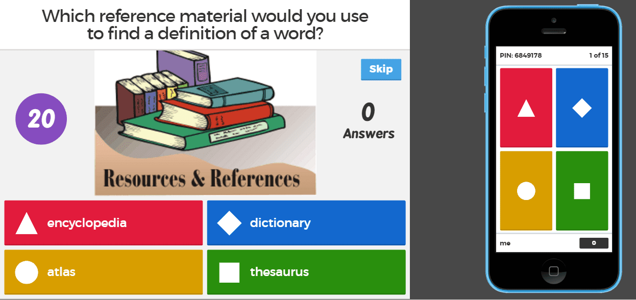 The Reading Roundup Kahoot Interactive Online Learning Game