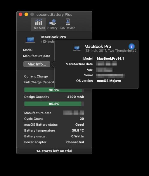 Dove visualizzare le informazioni dettagliate sull'SSD in macOS