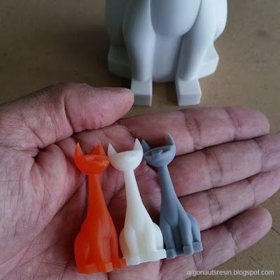 Tuttz & Pharaoh Hound Micro Resin Figures by Argonaut Resins