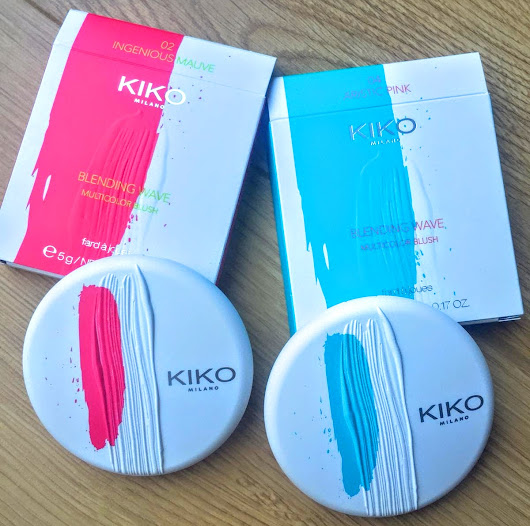 Kiko - Blending Wave Multicolour Blushes