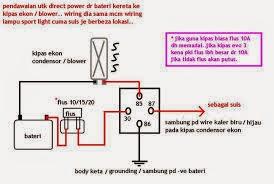 Tempat Rujukan Sendiri Diagram Untuk Wireing Extra Fan Untuk Aircond Kereta