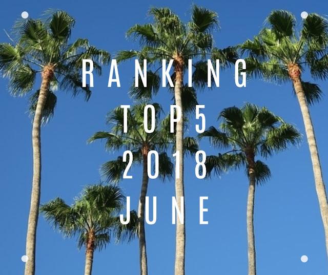 【月間ランキング TOP5 】2018年6月 大阪地震関連がIN ブログ運営6ヶ月目の定期ポスト