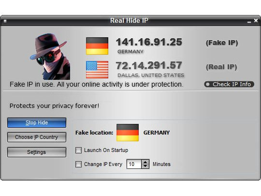 Faking your IP