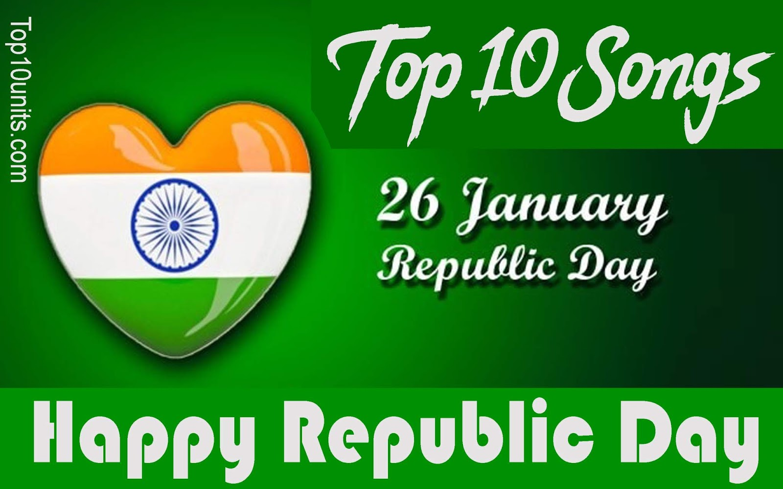 Top 10 Happy Republic Day Songs In Hindi 2018 Republic Day Special