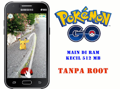 Pokemon Go di Samsung Galaxy J1
