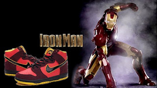 Put your Nike SB Dunk SB High Top Premium Iron Man 2010 Red Black Sneaker Up ab0a1d0096