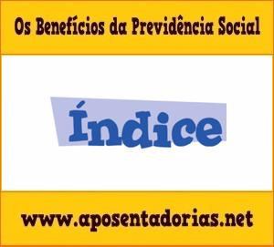 O que é benefício aguardando índice na Previdência Social.