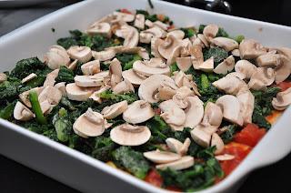 ricotta spinat lasagne