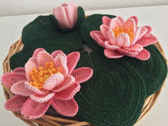 Ergahandmade Crochet Lotus Video Tutorial