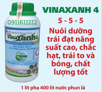 Phân hữu cơ sinh học Vinaxanh 4
