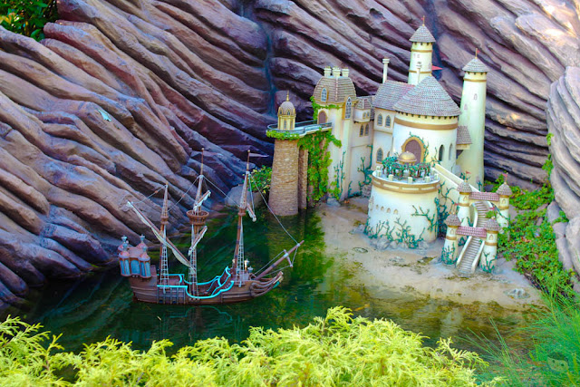 Little Mermaid Castle in Disneyland, Hong Kong