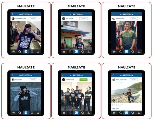Komentar di Media Sosial Mengenai Web Toko Kaos Batak