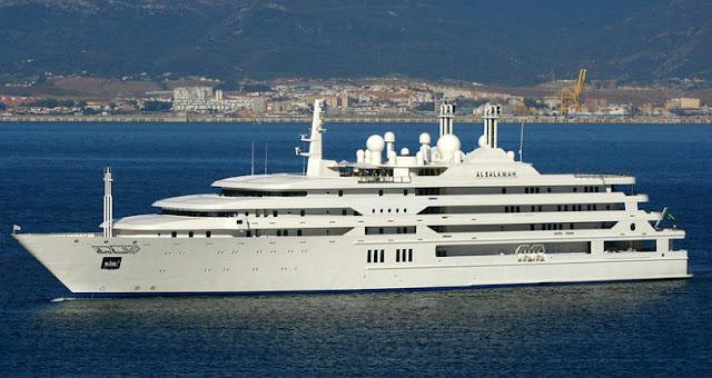 kapal pesiar mewah milik keluarga kerajaan arab saudi
