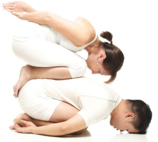 Yoga Poses 2 Person