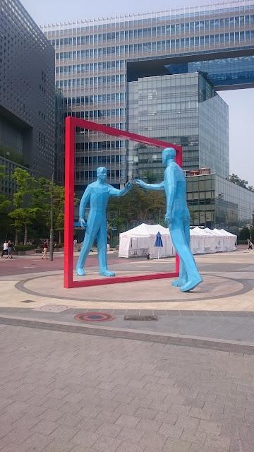 Public art in Digital Media City