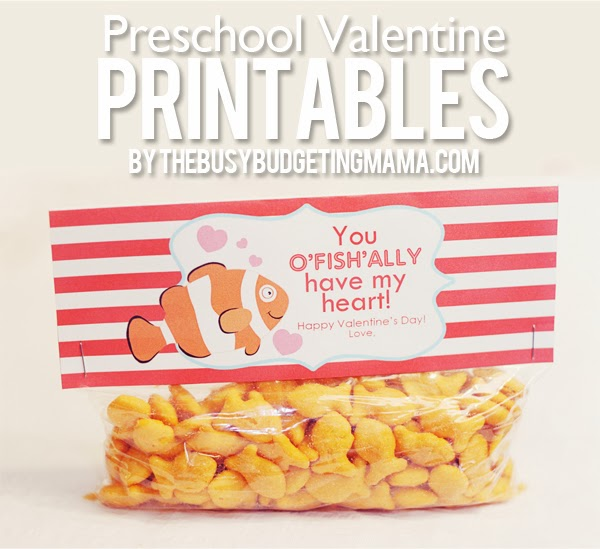 Valentine\u0027s Day Printables + Free Printable Banner \u2013 At Home With