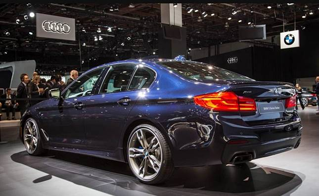 2018 BMW 5 Series Sedan M550i Activehybrid Price
