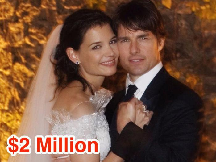 11-Tom Cruise and Katie Holmes