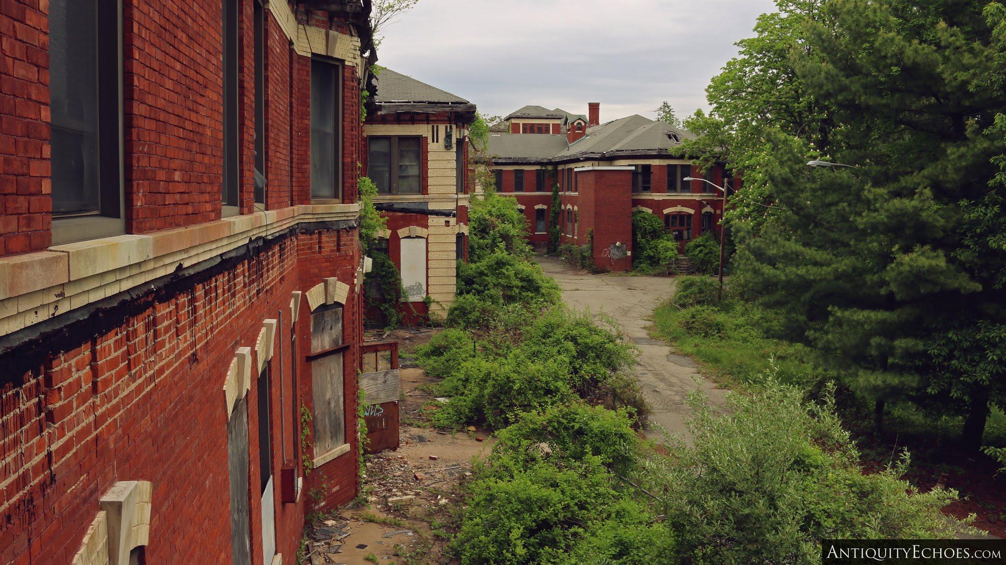 Overbrook Asylum - Weathered Facade