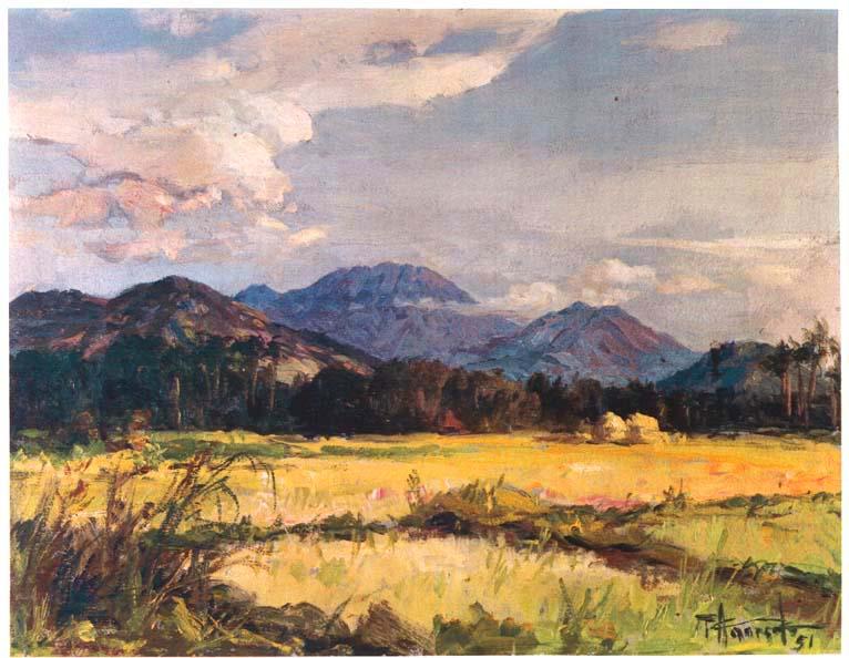 Fernando Amorsolo 1892-1972 | Filipino Genre and Historical painter