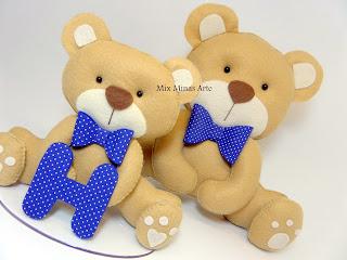 ursinhos para decoracao