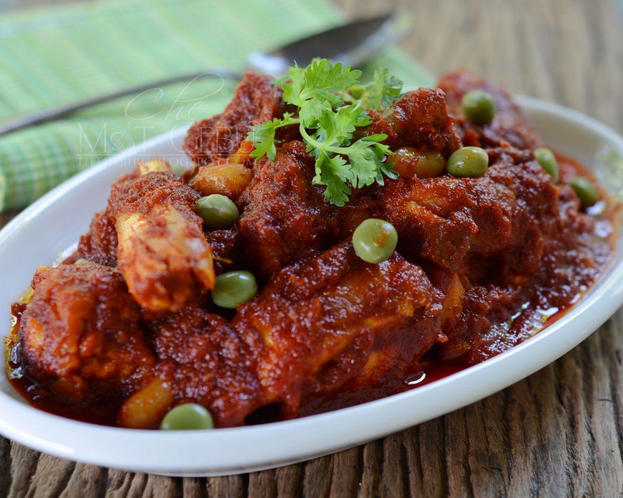 Resipi Ayam Masak Merah Berkacang Dapur Tanpa Sempadan