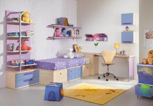 desain minimalis kamar tidur anak perempuan