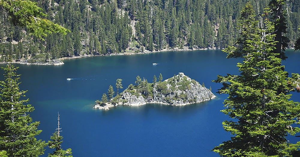 Lake Tahoe - jumping into North America's largest Alpine ...